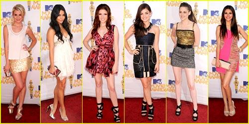 2010 MTV Movie Awards - Best Dressed Poll!