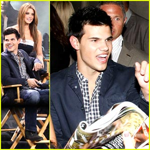 Taylor Lautner Only Goes Shirtless For a Reason