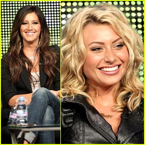 Aly Michalka & Ashley Tisdale: TCA Twosome