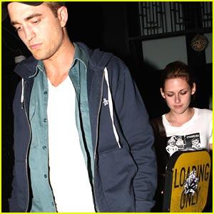 Robert Pattinson & Kristen Stewart: Hotel Cafe Couple