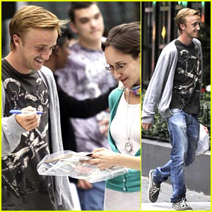 Tom Felton: Fan Friendly in Vancouver
