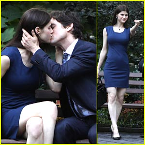 Alexandra Daddario: Kate Returns to White Collar!