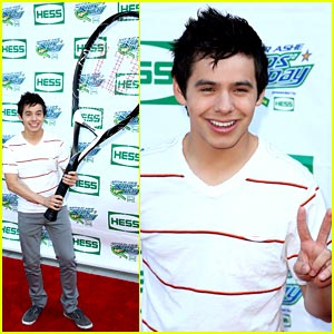 David Archuleta Takes Up Tennis with Allstar Weekend