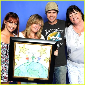 Drew Seeley & Amy Paffrath: Ray Cham Hollywood Day 2010