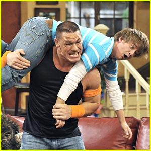 John Cena Bench Presses Jason Earles