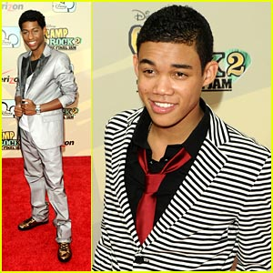 Roshon Fegan &#038; Jordan Francis: Camp Rock 2 Premiere!