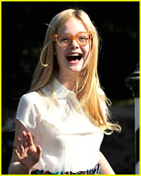 Elle Fanning Goes 'Somewhere' in Venice