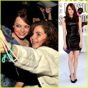 Emma Stone is Emilio Pucci Pretty