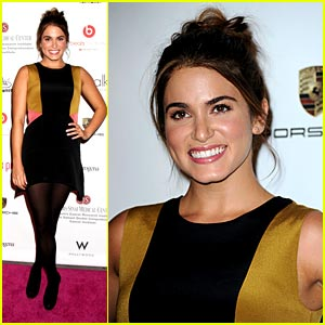Nikki Reed Parties For Pink