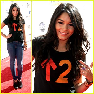 Vanessa Hudgens Stands Up To Cancer