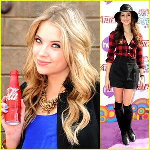 Ashley Benson is Coca-Cola Cute