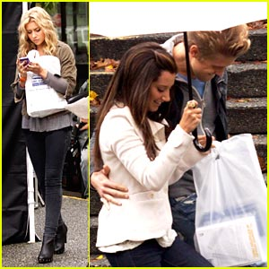 Ashley Tisdale & Matt Barr: Under The Umbrella