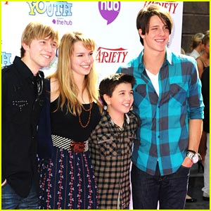 Photo of Shane Harper & his friend actor  Jason Dolley - The Good Luck Charlie