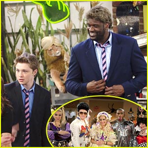 Shaq's Halloween Costume? Chad Dylan Cooper!