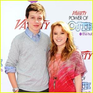 Taylor Spreitler & Nick Robinson: Power of Youth Pair