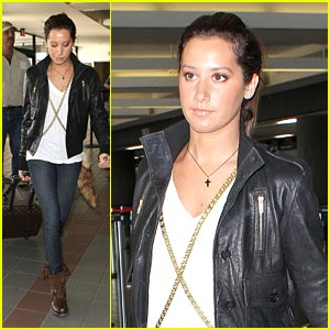 Ashley Tisdale: Back To Vancouver, I Go