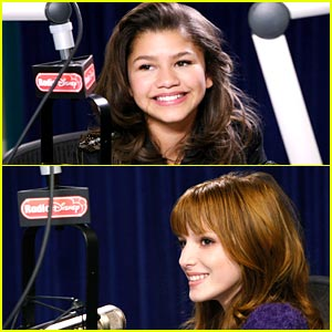 Bella Thorne & Zendaya 'Shake It Up' on Radio Disney