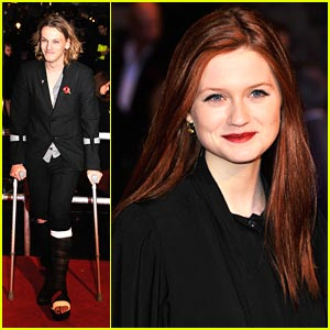 Bonnie Wright: 'Harry Potter Ended on a High'