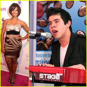David Archuleta & Monique Coleman: Girl Up!