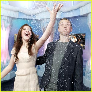 Georgie Henley & Will Poulter Light Up the Ice Palace