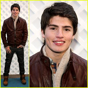 Gregg Sulkin Takes Over Times Square