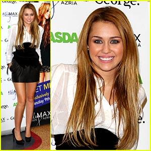 Miley Cyrus is Asda Adorable