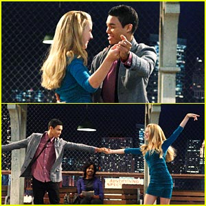 Roshon Fegan & Caroline Sunshine: Date Night on the L