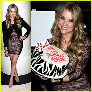 Ashley Benson's Blush Birthday