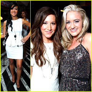 Ashley Tisdale & AJ Michalka: Miss Golden Globe Party Pair!