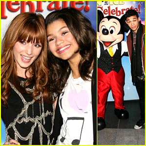 Bella Thorne & Zendaya: 'Shake It Up' on Ice!