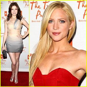 Brittany Snow & Anna Kendrick: Trevor Live Ladies