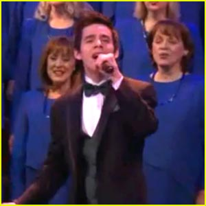 David Archuleta: 'Joy To The World' with Mormon Tabernacle Choir