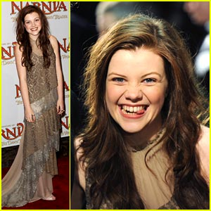 Georgie Henley's Narnia Night!