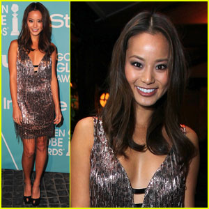 Jamie Chung: Miss Golden Globes Party!