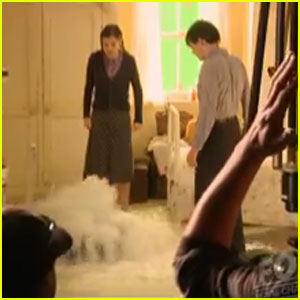 'Narnia' Behind the Scenes: Underwater Scene!