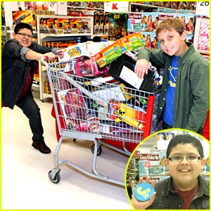 Rico Rodriguez Goes Shopping For St. Jude Children's Hospital