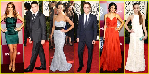 2011 Golden Globe Awards - Best Dressed Poll!