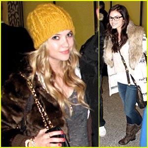 Ashley Benson: Hanna Has Changed The Most
