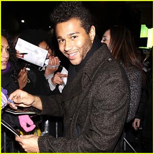 Corbin Bleu Celebrates 'In The Heights'
