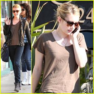 Emma Roberts: Larchmont Lady