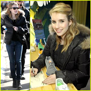 Emma Roberts is PUMA Pretty