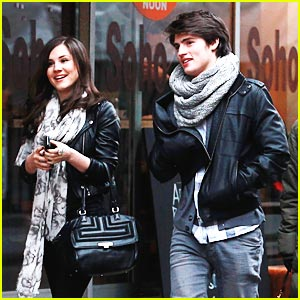 Gregg Sulkin & Electra Formosa: Soho Stroll in London