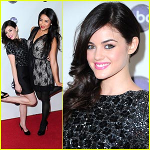 Lucy Hale & Shay Mitchell: TCA Press Tour Twosome