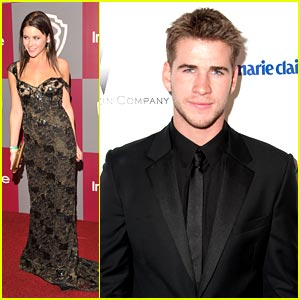 Renee Olstead &#038; Liam Hemsworth: Golden Globes Party Pair