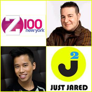 Just Jared: Radio Partnership with Z100!