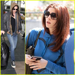 Ashley Greene: Off to Vancouver with Kristen Stewart
