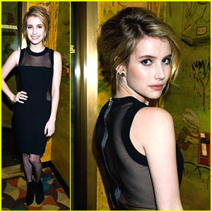 Emma Roberts: Michael Kors Party Person