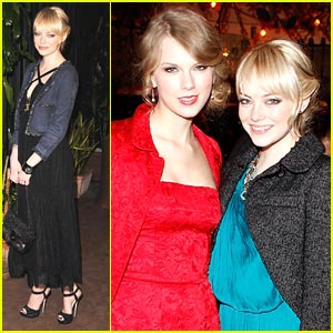 Emma Stone &#038; Taylor Swift: Montblanc Mates