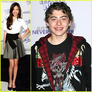 Kelsey Chow & Ryan Ochoa: 'Never Say Never' Premiere Pair ...