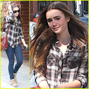 Lily Collins: Alexander Wang Woman